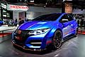 Honda Civic Type R car concept Motor Show di Parigi 2014