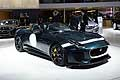 Jaguar F-Type Project 7 sportcars at the Paris Motor Show 2014