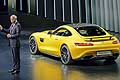 Mercedes AMG GT, Dr Dieter Zetsche at the Paris Motor Show 2014