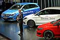 Mercedes-Benz B-Class, Dr-Dieter-Zetsche at the Paris Motor Show 2014