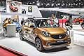 New Smart Forfour al Salone Internazionale dell'Automobile di Parigi 2014
