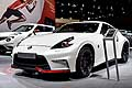 Nissan 370Z Nismo sport car International Motor Show di Parigi 2014