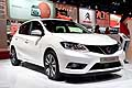 Nissan Pulsar white at the Paris Motor Show 2014