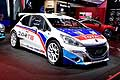 Peugeot 208 T16 racing cars al Salone dell�Automobile di Parigi 2014