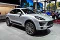 Porsche Macan S Diesel at the Paris Motor Show 2014