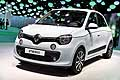 Renault Twingo white at the Paris Motor Show 2014