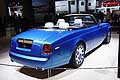 Rolls-Royce Phantom Drophead Coupe Waterspeed Collection retrotreno al Parigi Motorshow 2014