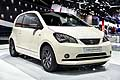Seat Mii by Mango anteriore all'International Motor Show di Parigi 2014