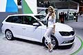 Skoda Fabia Combi all'International Motor Show di Parigi 2014