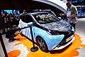 Toyota Aygo art design at the Paris Motor Show 2014