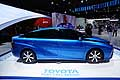 Toyota FCV fuel cell sedan al Parigi Motor Show 2014