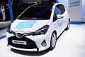 Toyota Yaris Hybrid at the Paris Motor Show 2014