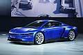 Volkswagen XL Sport concept car at the Paris Motor Show 2014