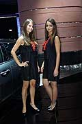 Beautiful girls at the Paris Motor Show 2014