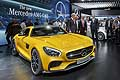 New Mercedes AMG GT press day at the Paris Motor Show 2014