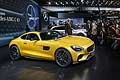 New Mercedes AMG GT supercars at the Paris Motorshow 2014