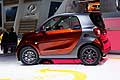 Smart Fortwo Tailor Made laterale al Salone di Parigi 2014