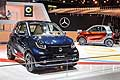 City car Smart tailor made at the Paris Motor Show 2014