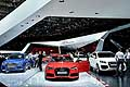 Stand Audi at the Paris Motor Show 2014