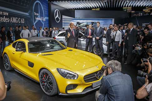 Paris-Motor-Show Mercedes-Benz