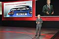 Adrian Hallmark introduces the new jagur F-Type in Paris Motor Show 2012