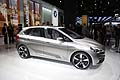 Auto BMW Active Tourer concept car al Paris Motor Show 2012