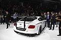 Bentley Continental GT3 posteriore vattura racing al Paris Motor Show 2012