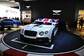 Bentley Continental GT3 racing cars al Salone di Parigi 2012