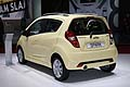Chevrolet Spark model year 2013 posteriore al Paris Motor Show 2012