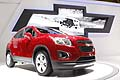 Chevrolet Trax small SUV celebrated its world premiere at the Paris Motor Show 2012