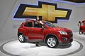 Auto Chevrolet Traks e hostess al Paris Motor Show 2012