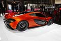 World Premiere McLaren P1 concept car al Paris Motor Show 2012