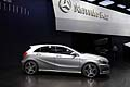 Mercedes-Benz A Class silver laterale al Paris Motor Show 2012