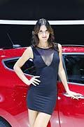 Belle ragazze presenti al Paris Mondial De l�Automobile 2012. Hostess Motor Show