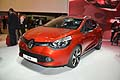 La nuova vettura francese Renault Clio la Salone International dell'automobile di Parigi 2012