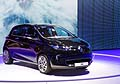 Renault zoe electric car al Motor Show di parigi 2012
