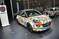 Vauxhall Aadam art car by Peter Blake al Mondial de l´Automobile di Parigi 2012