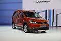 Volkswagen Cross Caddy red color al Parigi Motorshow 2012