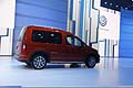 Volkswagen Cross Caddy fiancata laterale al Parigi Motor Show 2012