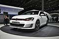 World Premiere Volkswagen Golf GTI bianca al Paris Mondiale de l´Automobile 2012