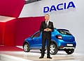 Press day Dacia Sandero al Paris Motor Show 2012