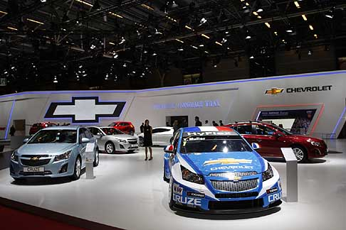 Paris-Motorshow Chevrolet