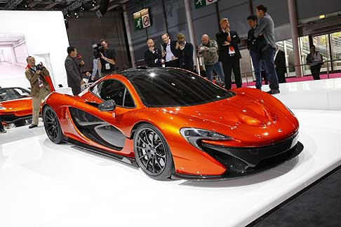 McLaren - World premiere McLaren P1 Concept at the Paris Motor Show 2012