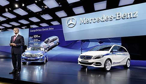 Mercedes-Benz - Mercedes Concept B-Class Electric Drive and Mercedes B-Class Natural Gas Drive