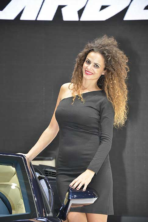 Paris-Motorshow Hostess