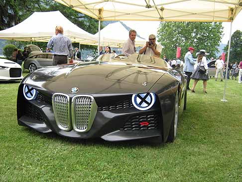 BMW - BMW 328 Hommage Concept car frontale