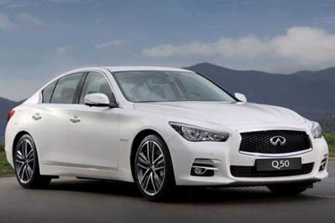 Car of the Year 2015 - Infiniti Q50 candidate Car of the Year 2015 award