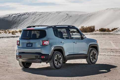 Car of the Year 2015 - Jeep Renegade candidate Car of the Year 2015 award