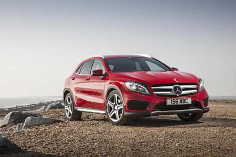Car of the Year 2015 - Mercedes-Benz GLA candidate Car of the Year 2015 award