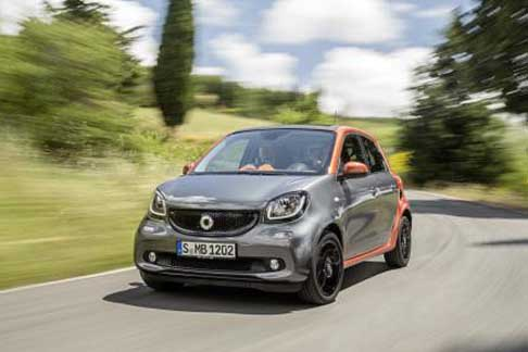 Car of the Year 2015 - Smart ForFour candidate Car of the Year 2015 award